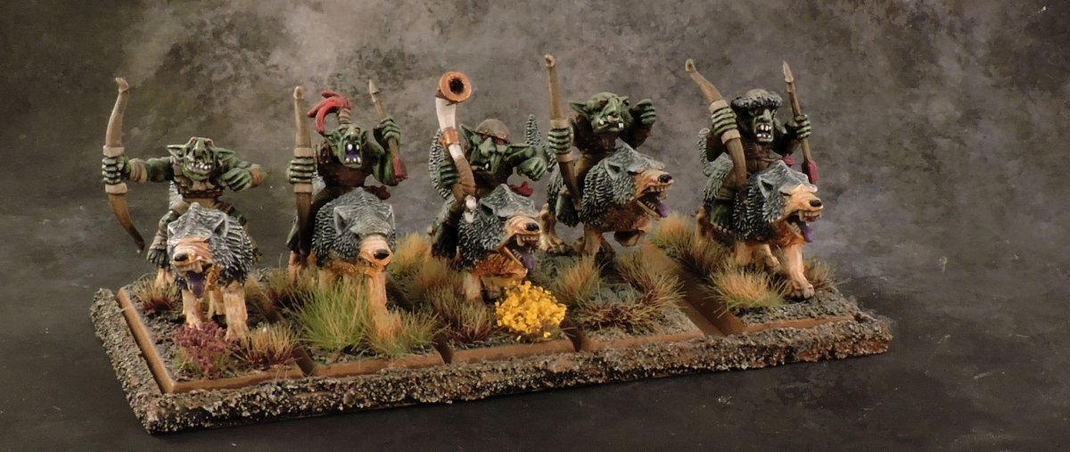 WFB Orcs - Goblin Wolf Riders 1