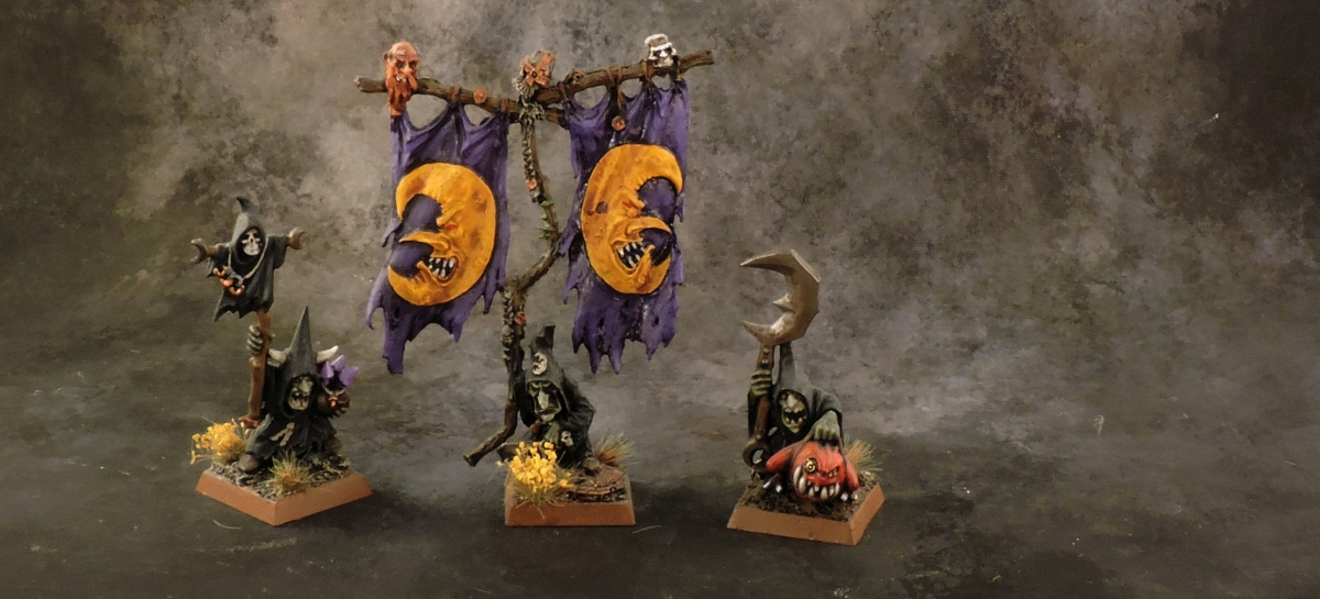 WFB Orcs - Night Goblin Bosses