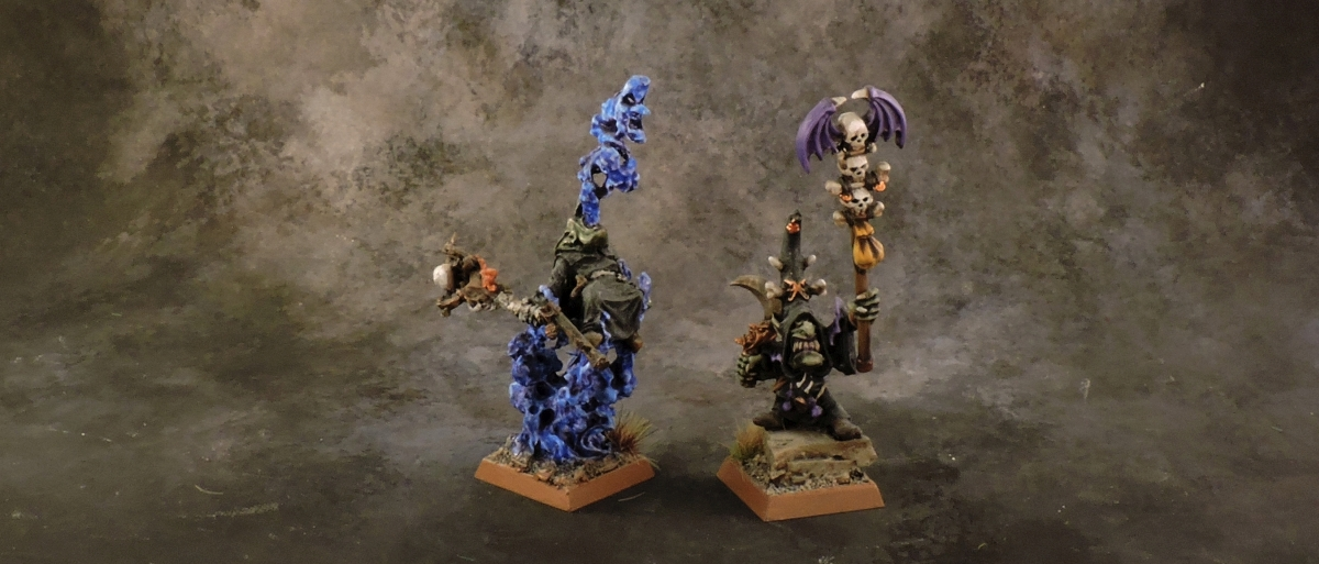 WFB Orcs - Night Goblin Shamans