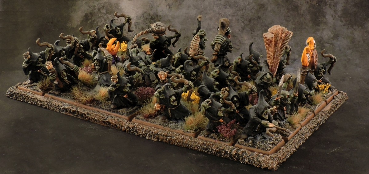 WFB Orcs - Night Goblins 3 Side