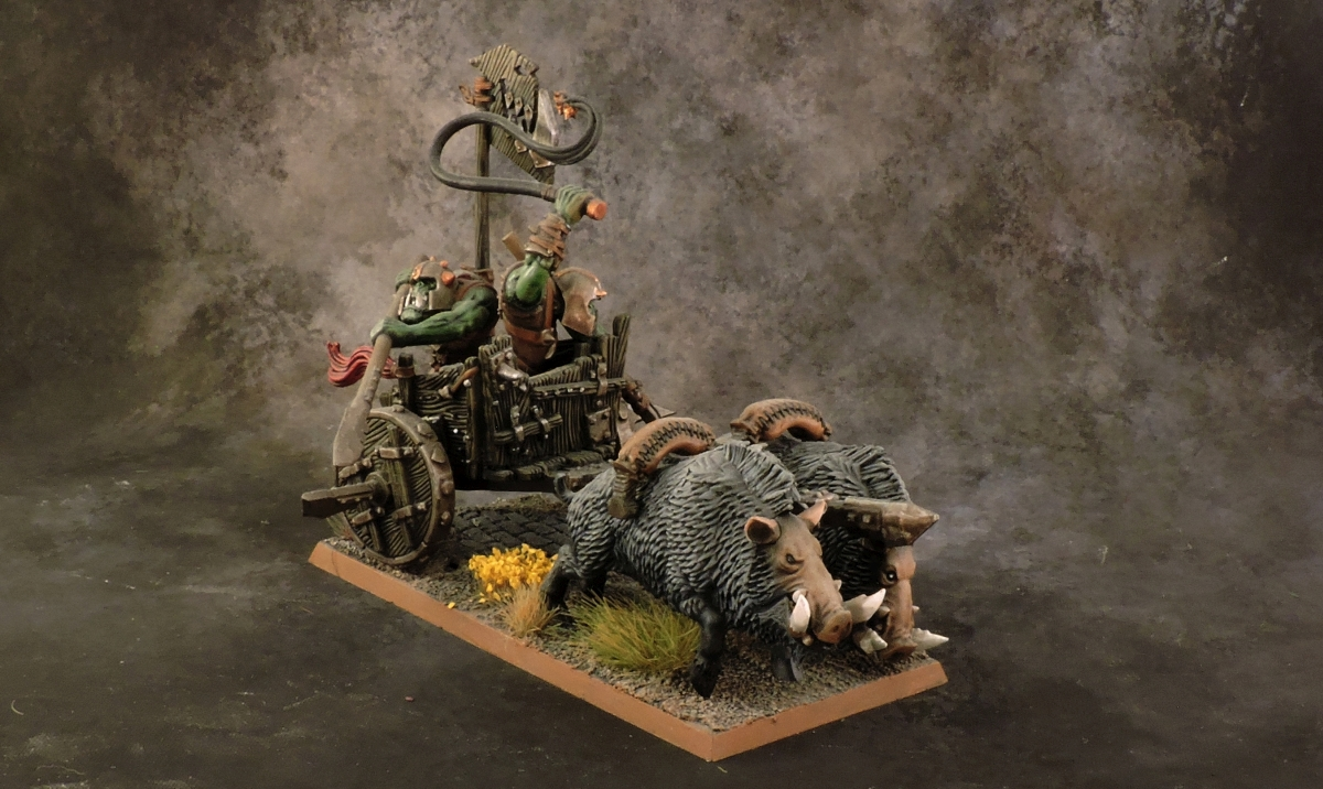 WFB Orcs - Orc Chariot 2