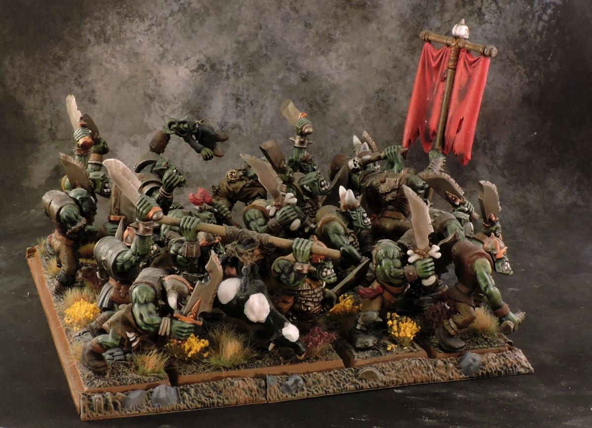 WFB Orcs - Orcs 1 Rear