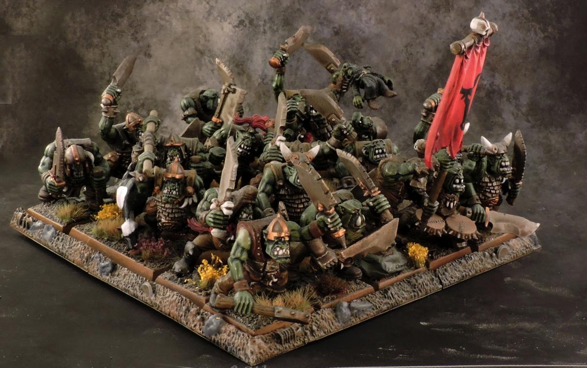 WFB Orcs - Orcs 1 Side