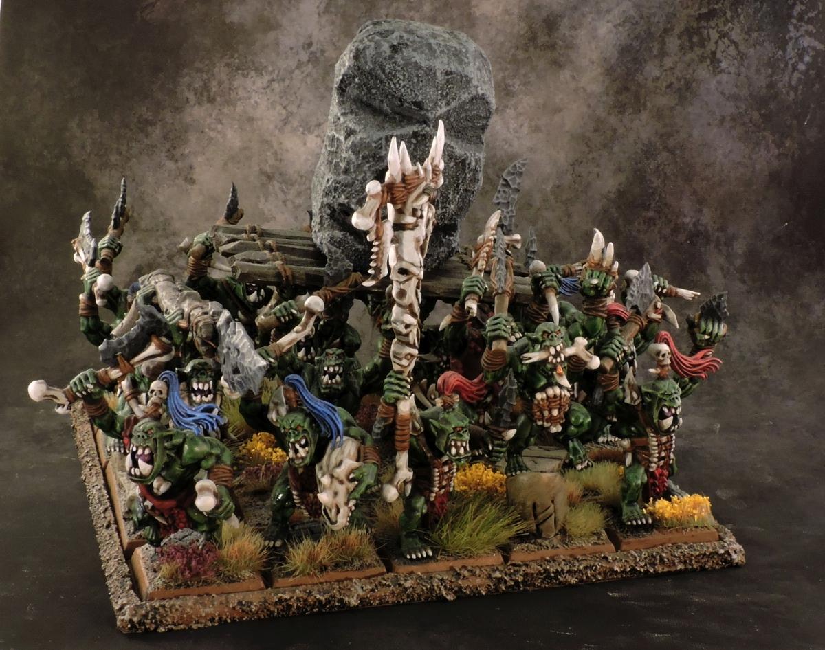 WFB Orcs - Orcs 2 Rear