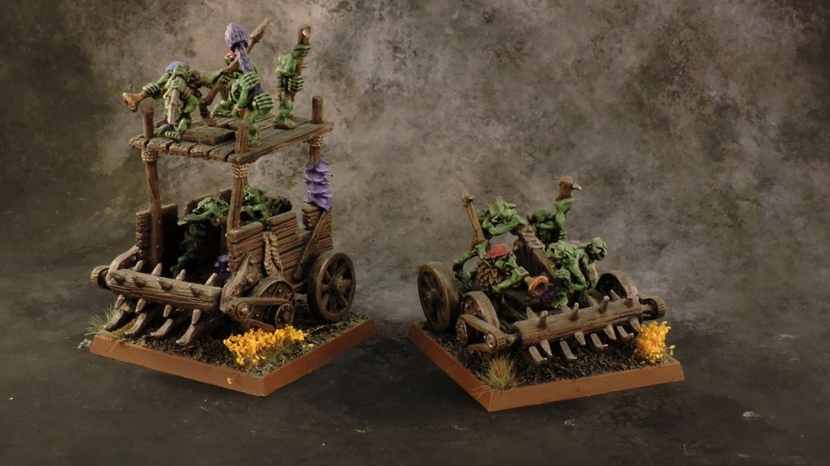 WFB Orcs - Pump Wagons.JPG
