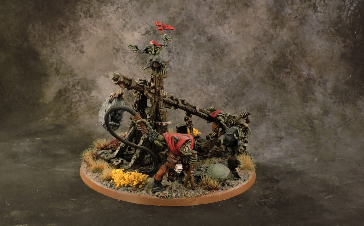 WFB Orcs - Rock Lobba