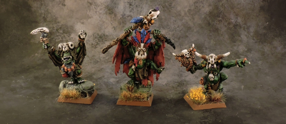 WFB Orcs - Savage Orc Shamans
