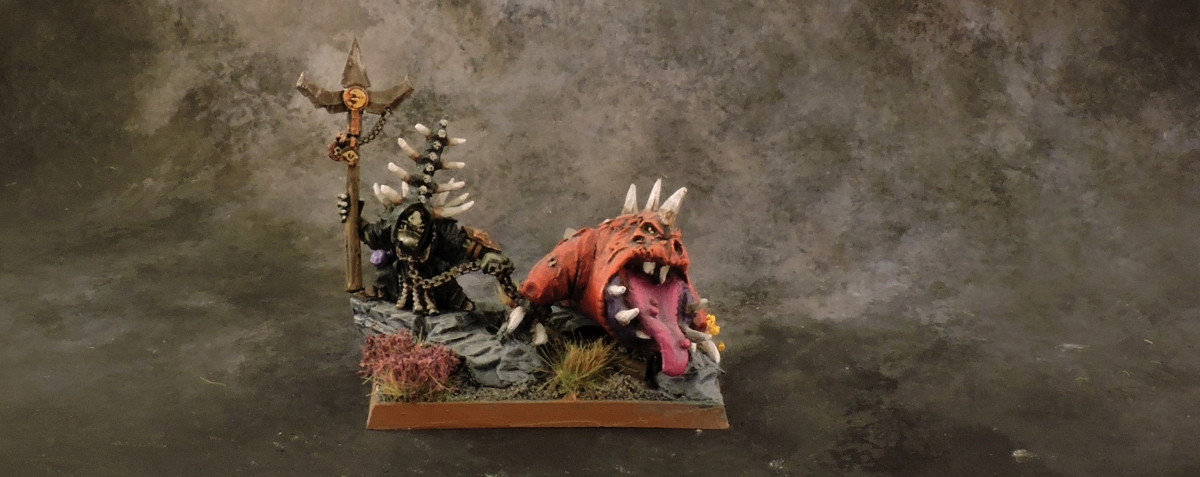 WFB Orcs - Skarsnik