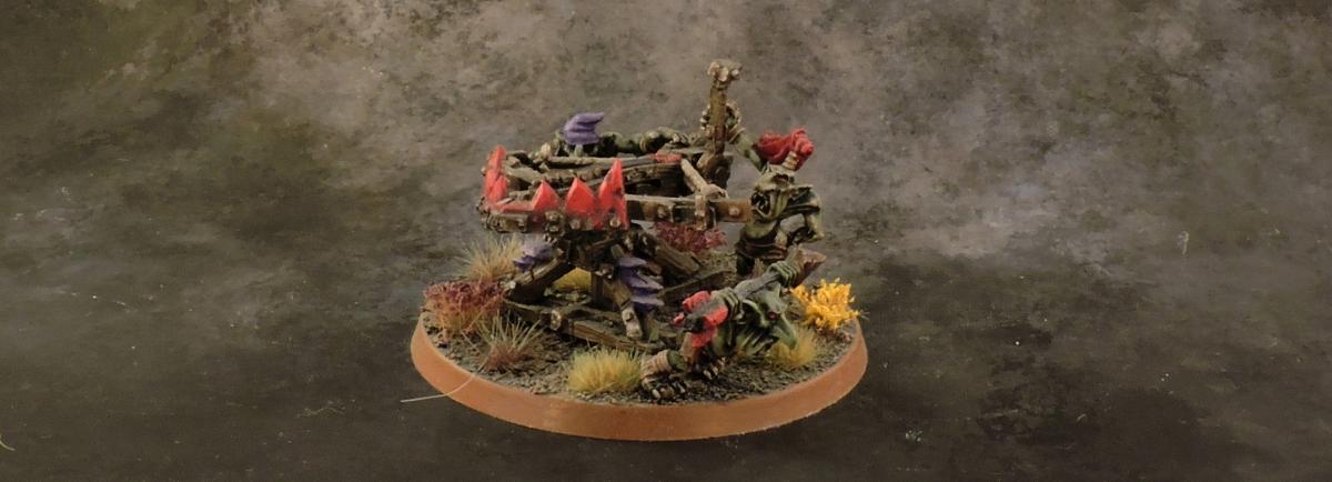 WFB Orcs - Spear Chukka