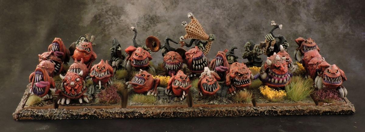 WFB Orcs - Squig Herd