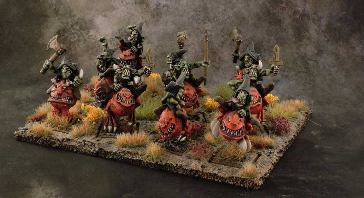 WFB Orcs - Squig Hopper