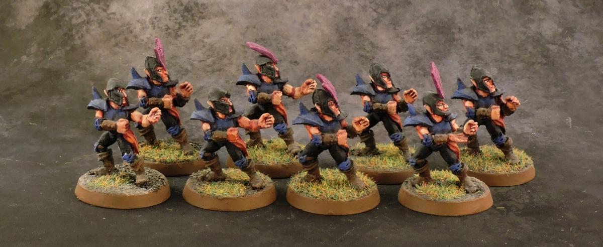 BB Dark Elves - Linemen 1