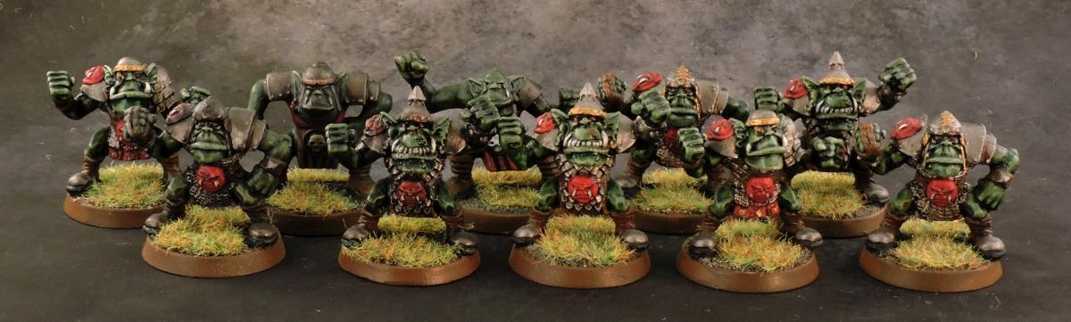 BB Orcs - Linemen