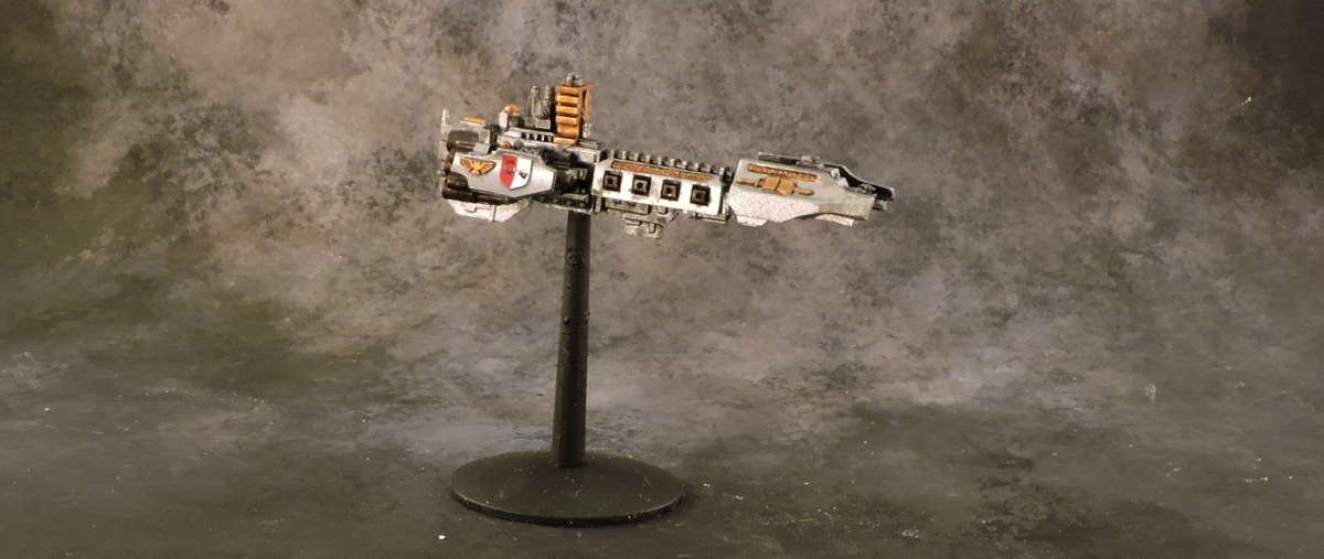 BFG - Grey Knight Strike Cruiser