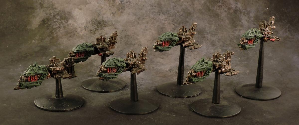 BFG Orks - Attack Ships