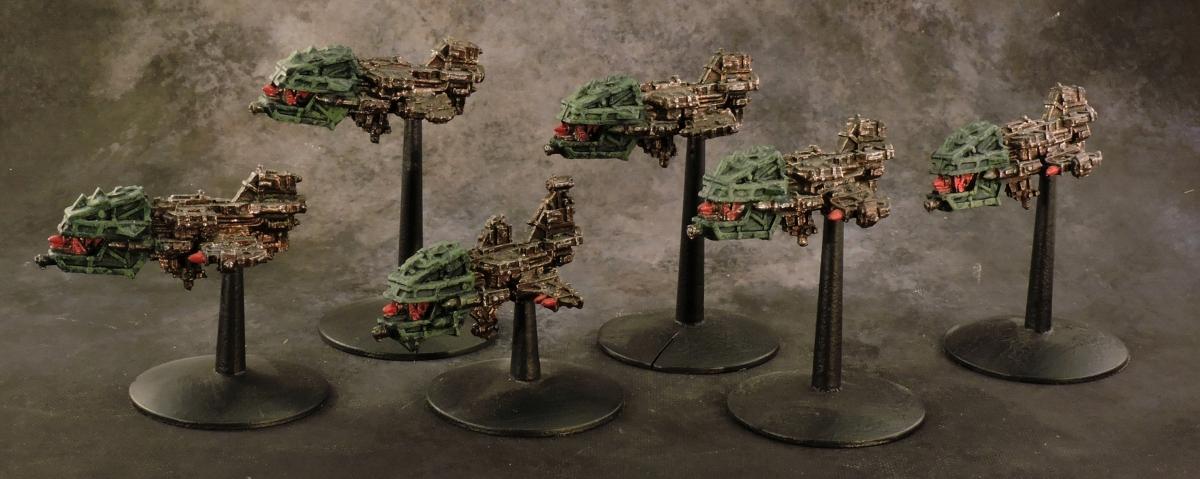 BFG Orks - Gun Ships