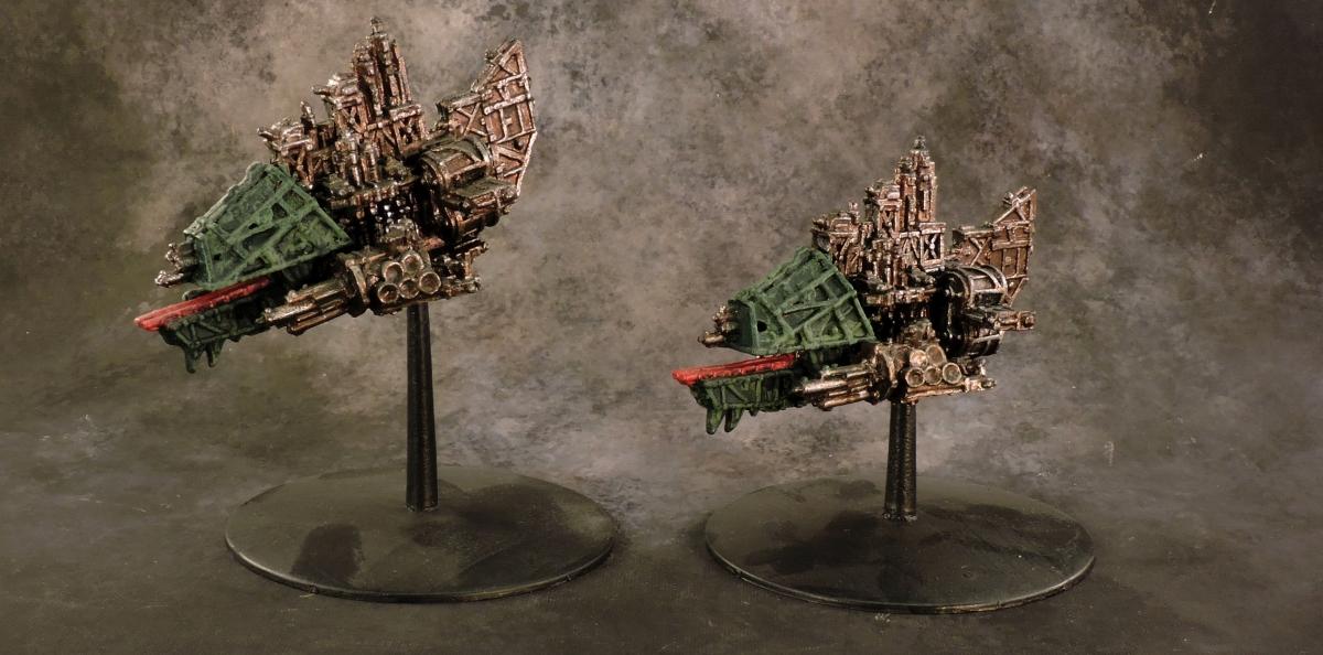 BFG Orks - Terror Ships