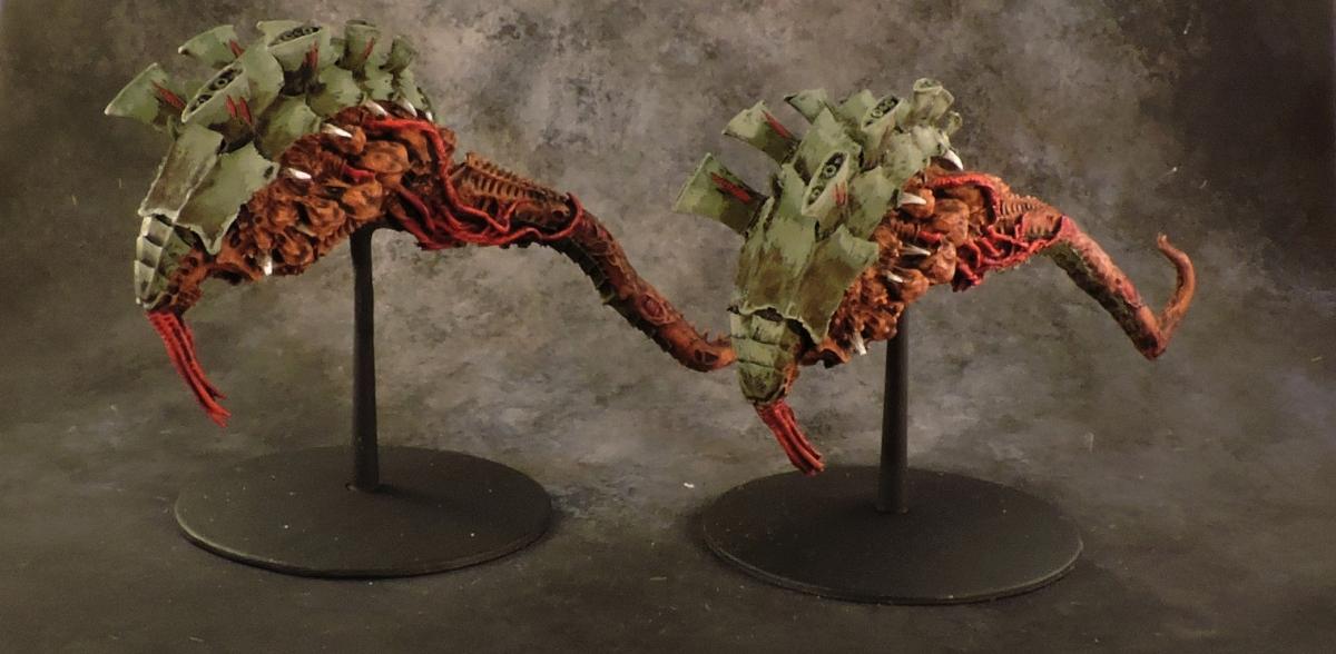 BFG Tyranids - Hive Ships