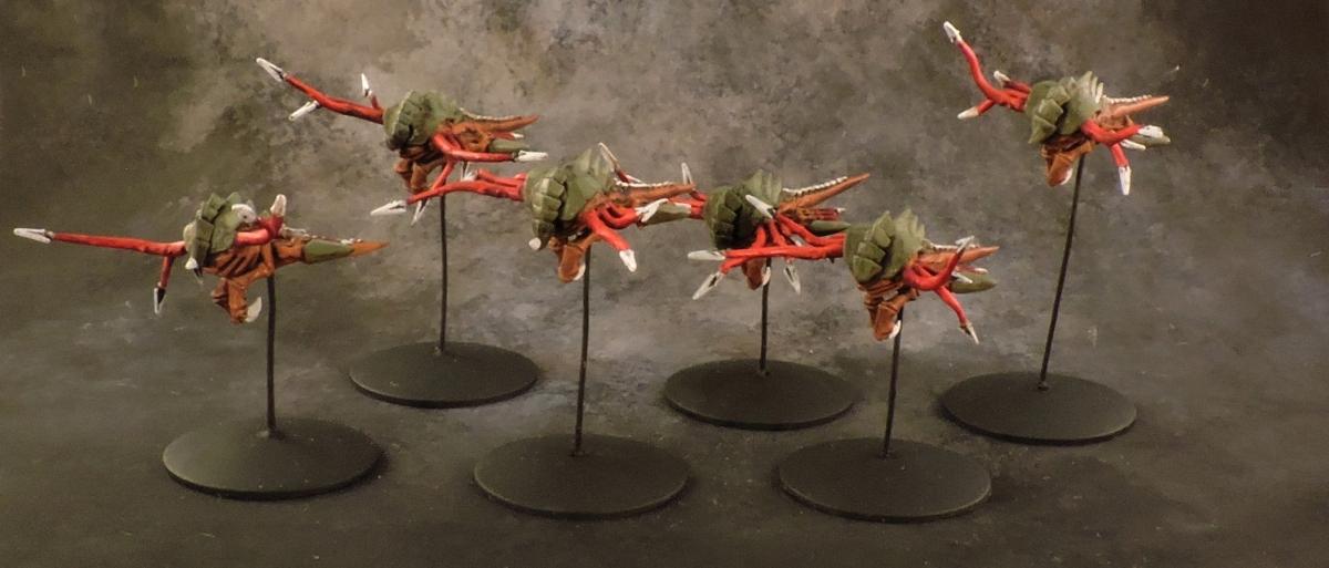 BFG Tyranids - Tentacle Kraken