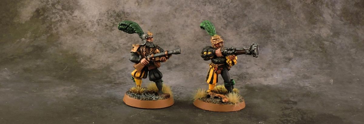 Mordheim Averlander - Gunners