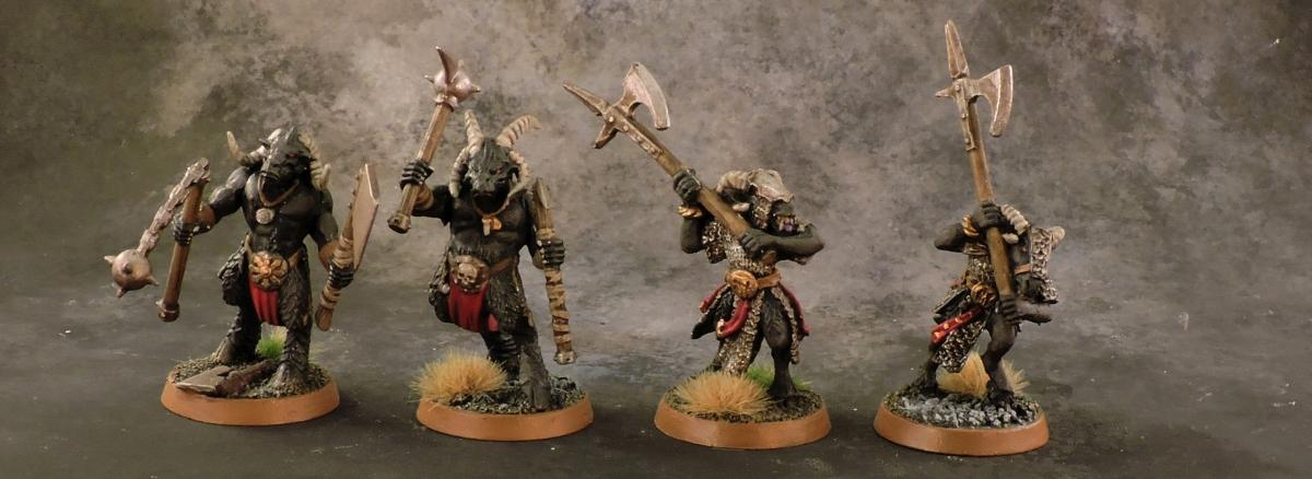 Mordheim Beastmen - Bestigors