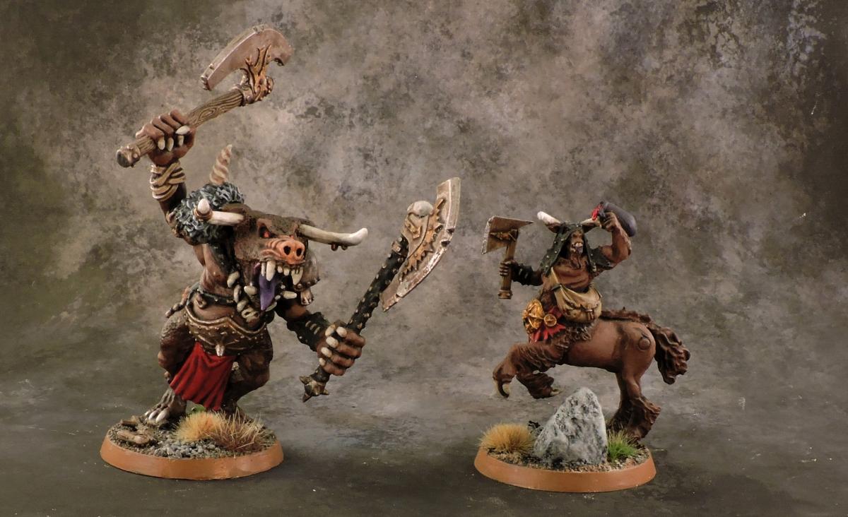 Mordheim Beastmen - Big Guys