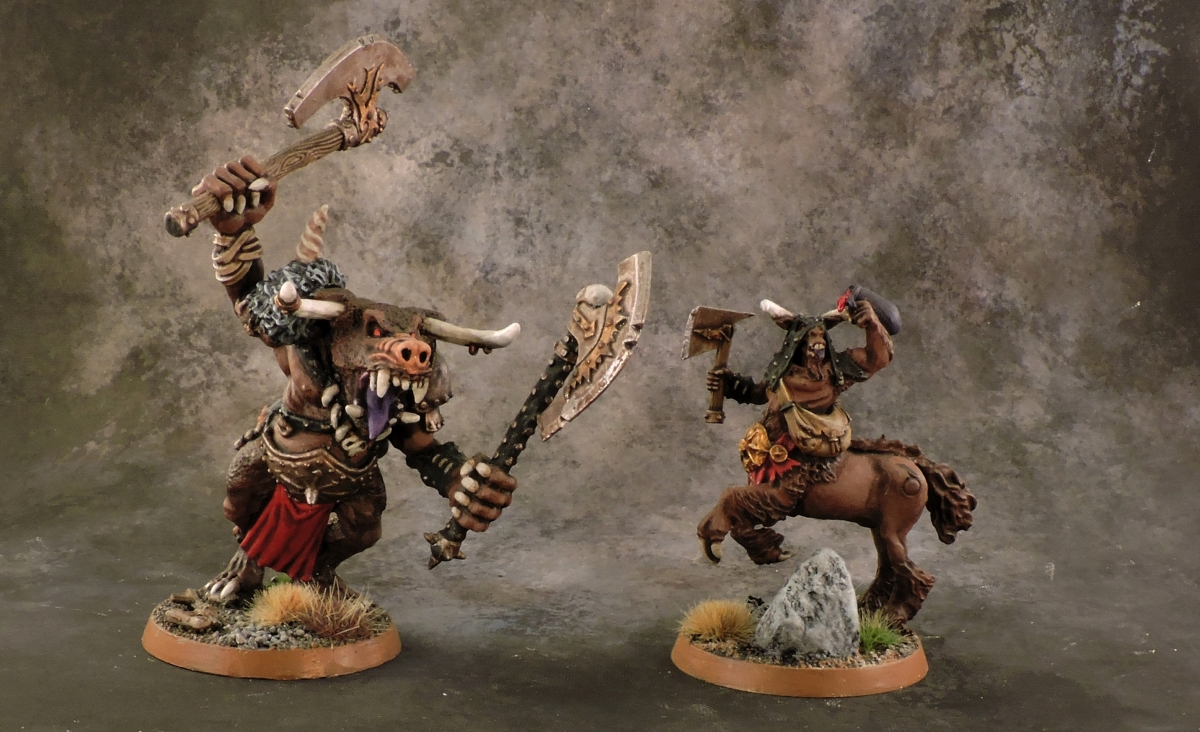 Mordheim Beastmen - Big Guys