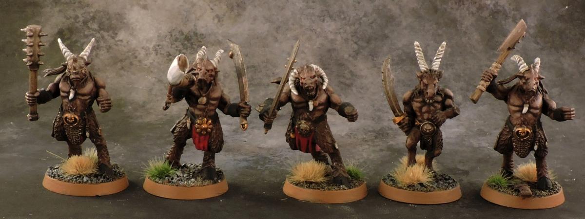 Mordheim Beastmen - Gors
