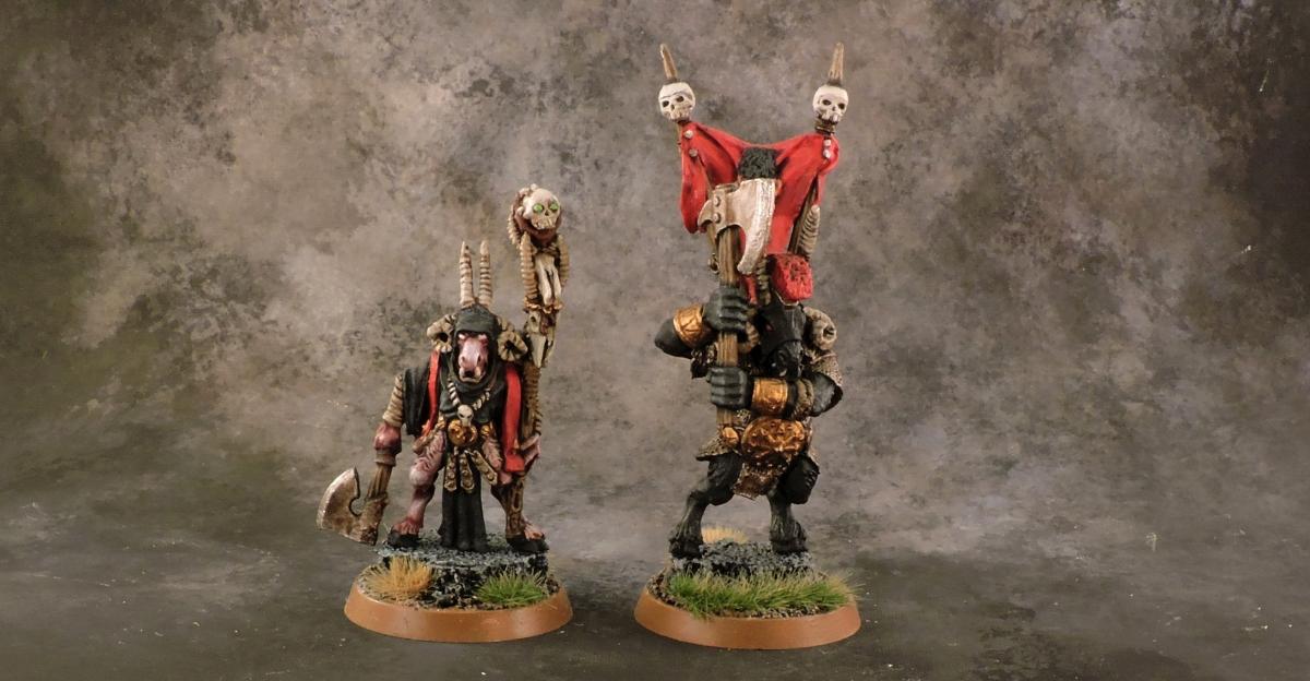 Mordheim Beastmen - Heroes