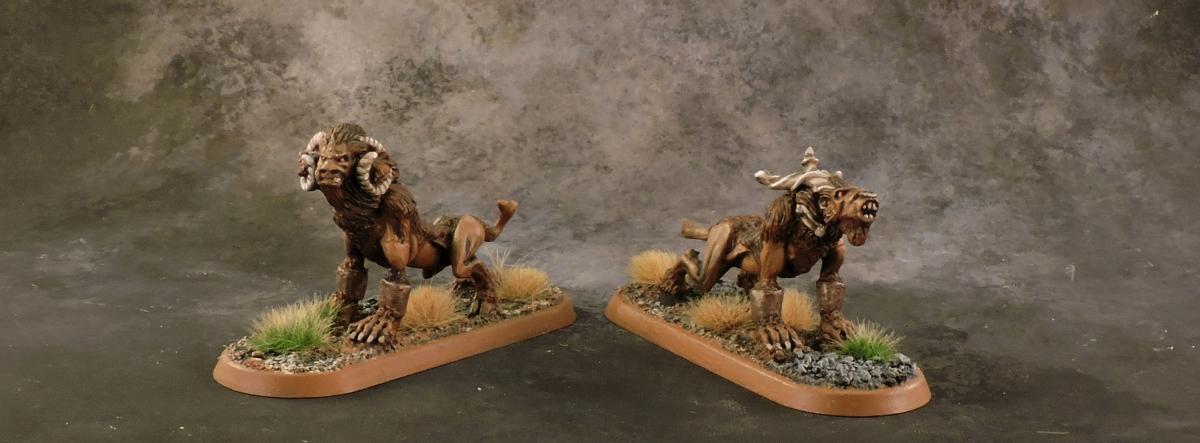Mordheim Beastmen - Hounds