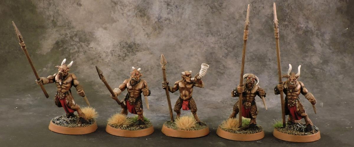Mordheim Beastmen - Ungors