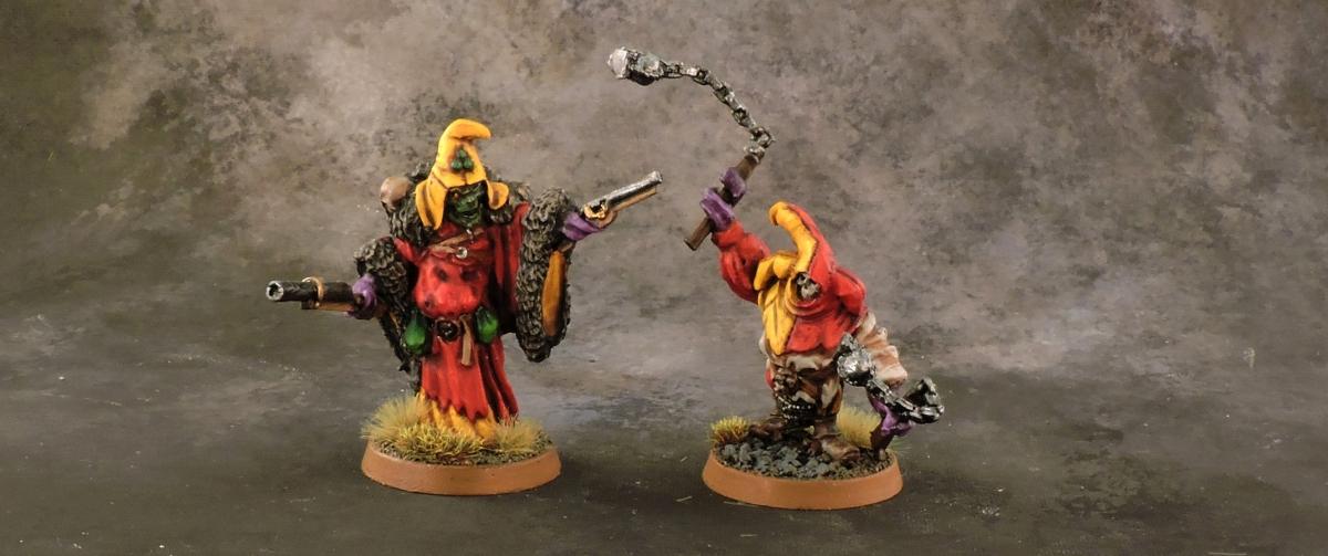 Mordheim Carnival - Heroes