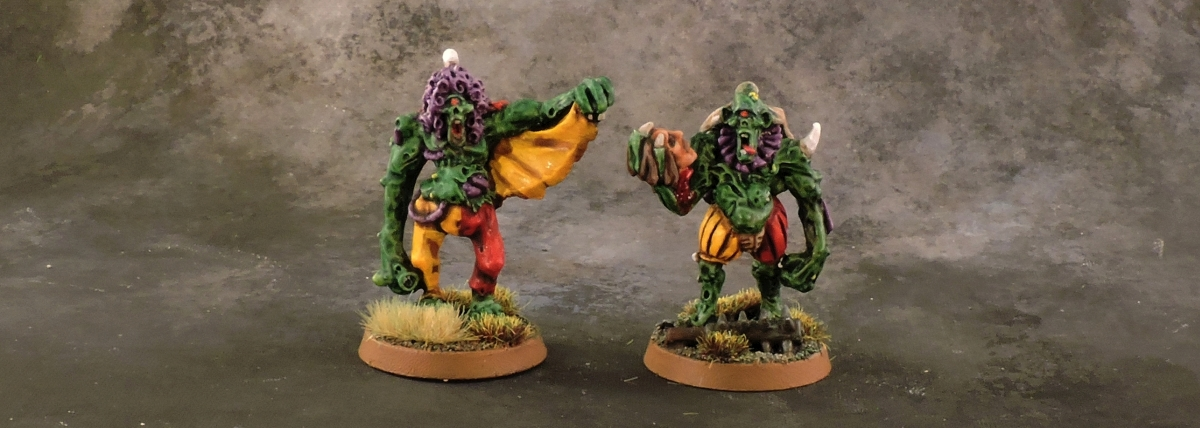 Mordheim Carnival - Plaguebearers
