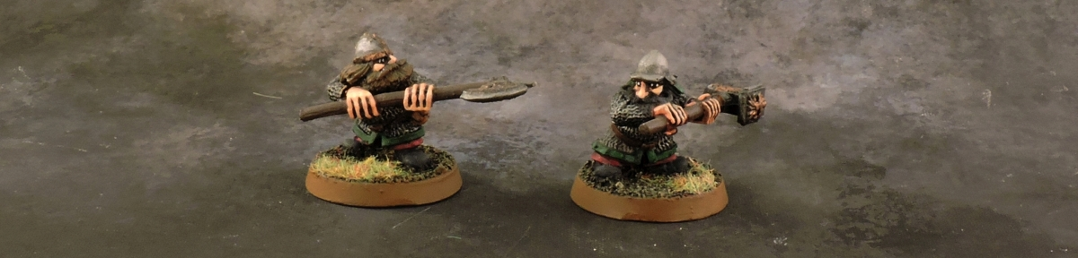 Mordheim Dwarves - 2h Warriors