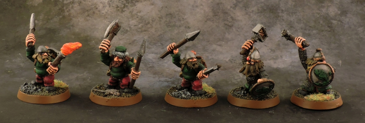 Mordheim Dwarves - Warriors