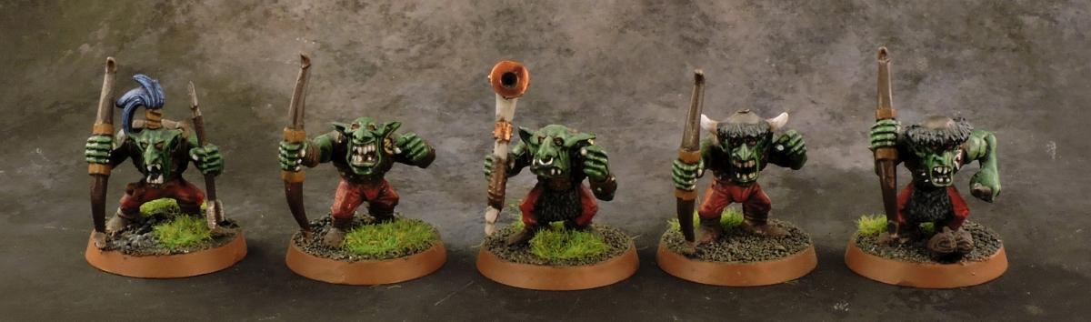 Mordheim Goblins - Archers