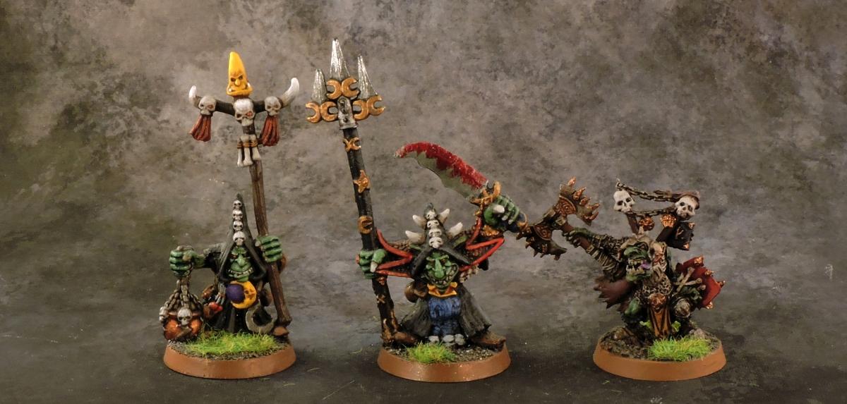 Mordheim Goblins - Bosses.JPG