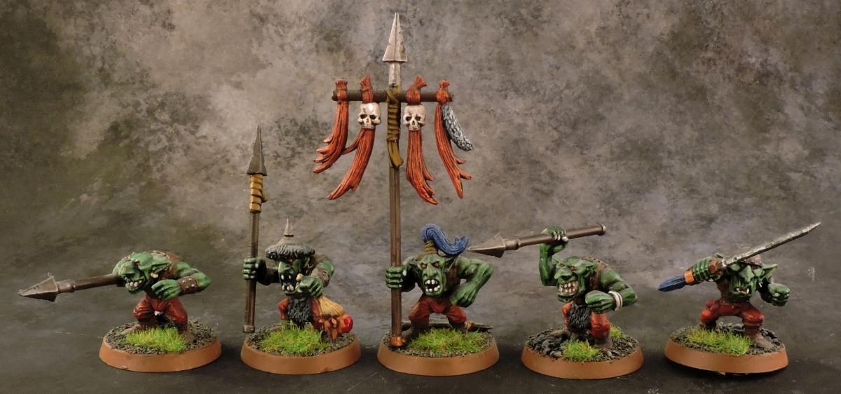 Mordheim Goblins - Spearmen