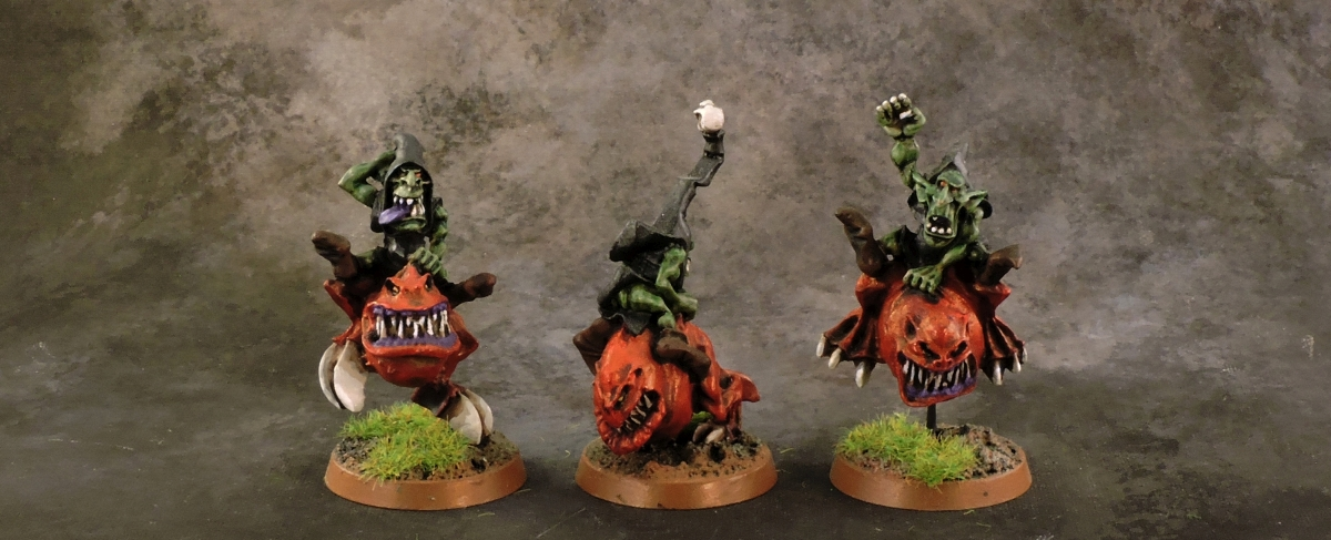 Mordheim Goblins - Squig Hopper