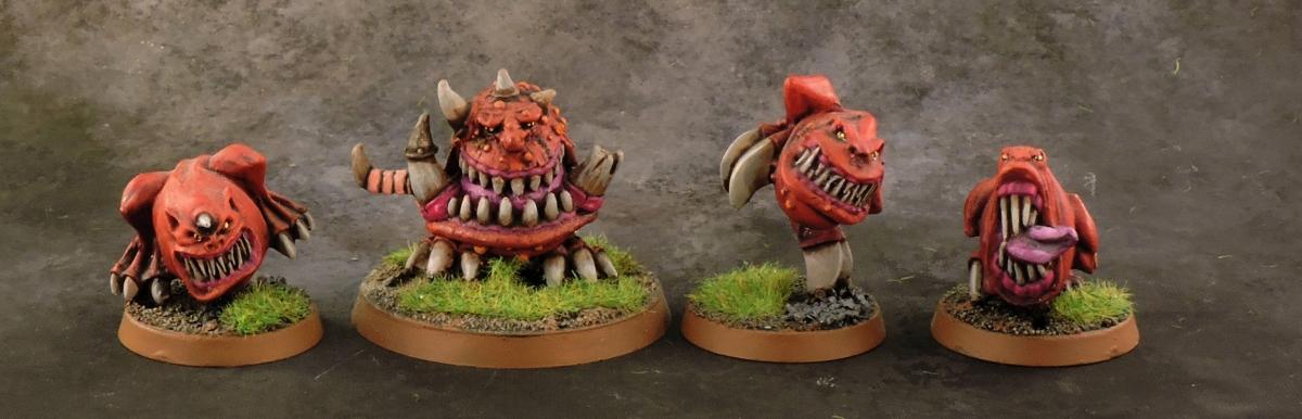 Mordheim Goblins - Squigs