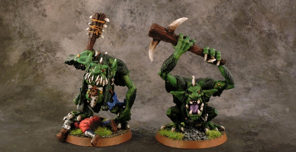 Mordheim Goblins - Trolls