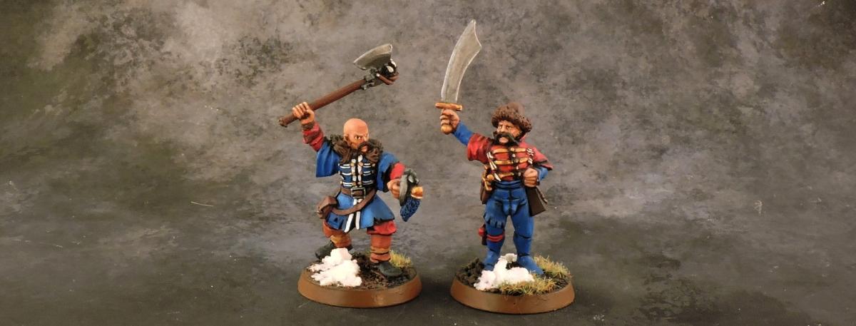 Mordheim Kislev - Sergeants