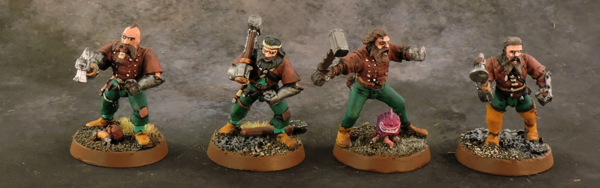 Mordheim Middenheimer - Warriors 1