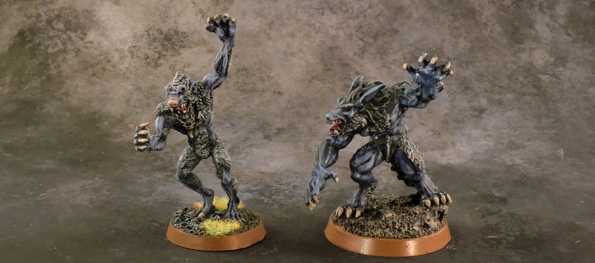 Mordheim Middenheimer - Werewolves