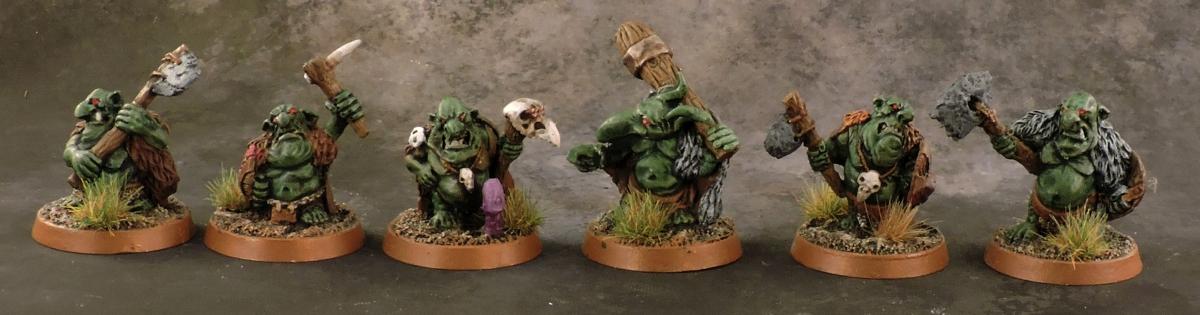 Mordheim Ogres - Gnoblars