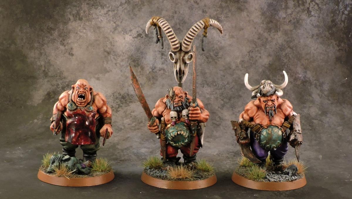 Mordheim Ogres - Heroes