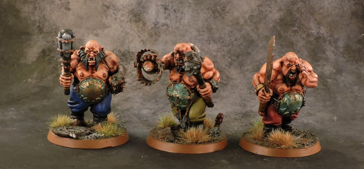 Mordheim Ogres - Regulars