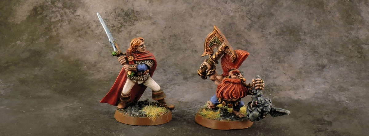 Mordheim Personas - Gortrek and Felix