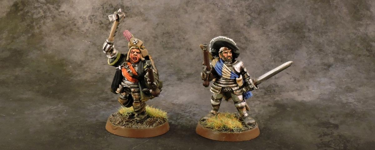 Mordheim Personas - Mercenaries