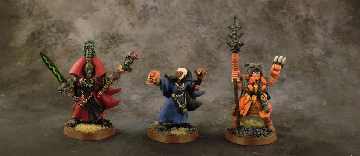 Mordheim Personas - Wizards